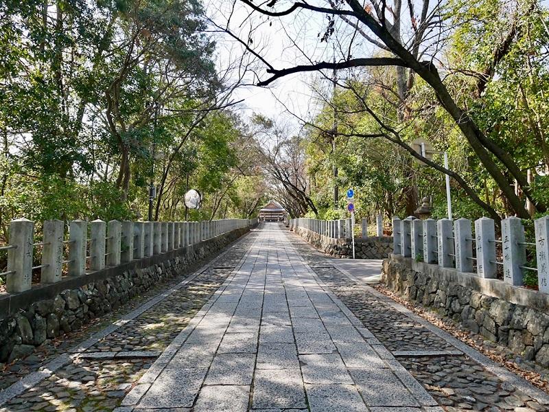 京都 向日神社 参道