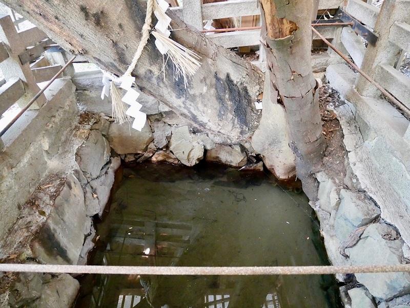 増井神社の井戸