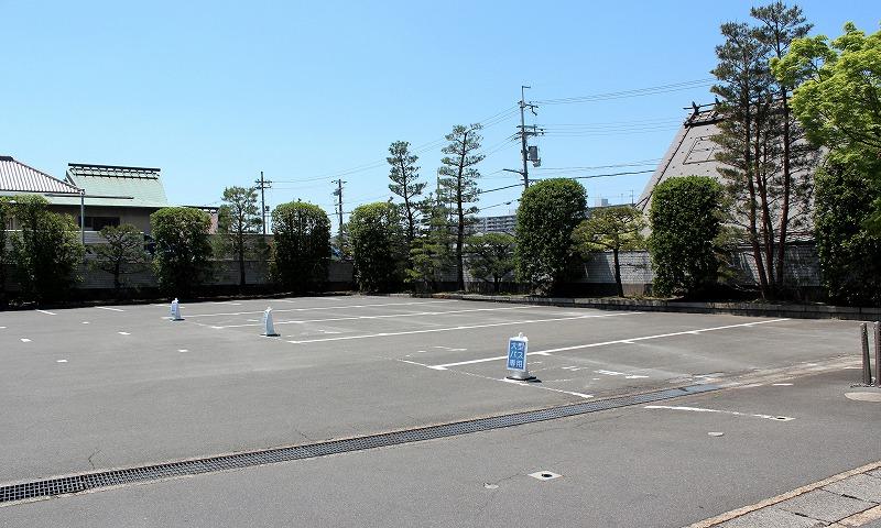 京都 城南宮 駐車場