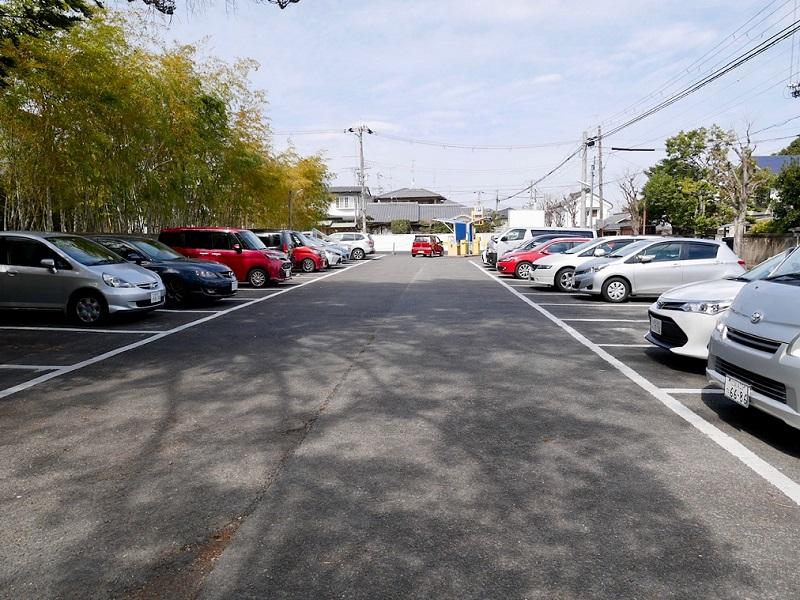 京都 長岡天満宮 駐車場