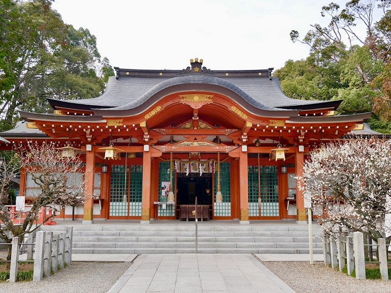 京都 長岡天満宮 拝殿