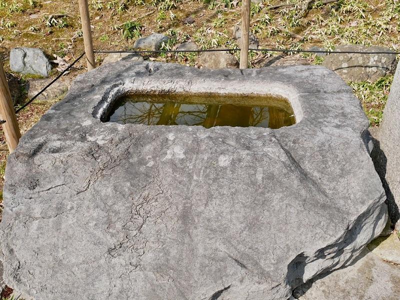 京都 乙訓寺 手水舎