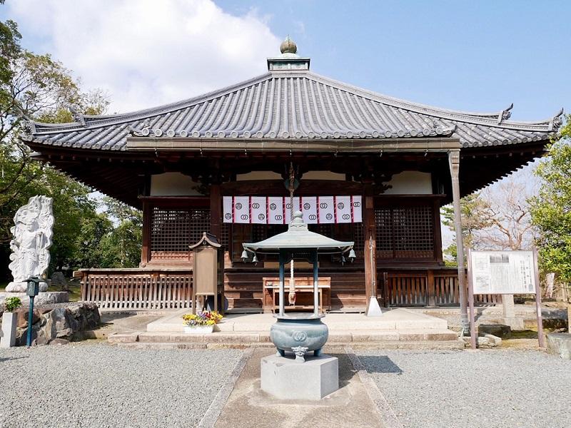 京都 乙訓寺 本堂
