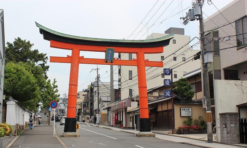 京都 御香宮神社 鳥居