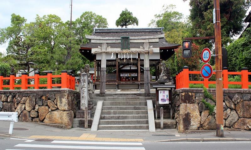 京都 福王子神社 鳥居
