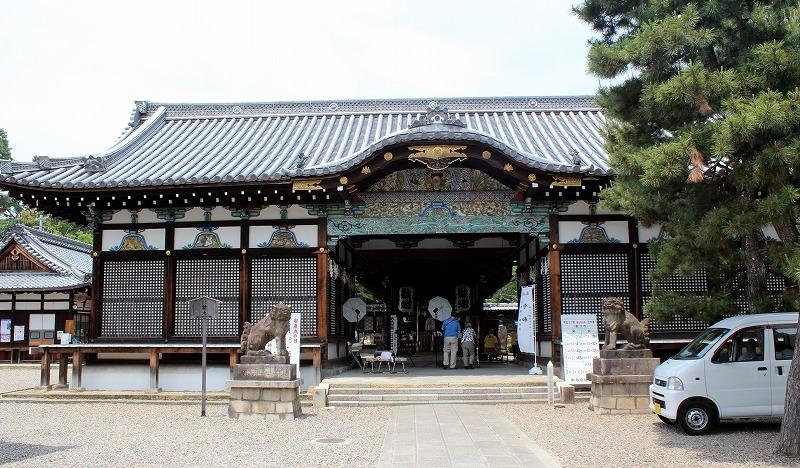 京都 御香宮神社 拝殿