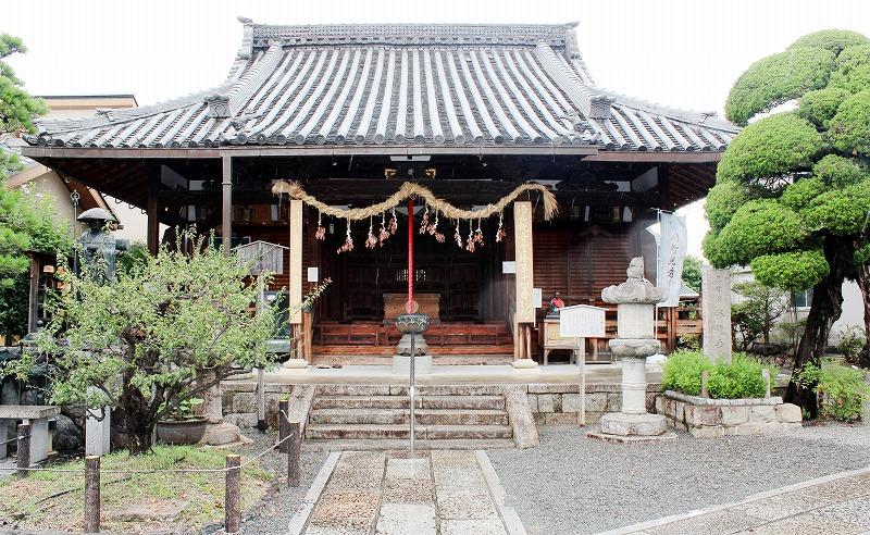 京都 勝龍寺 本堂