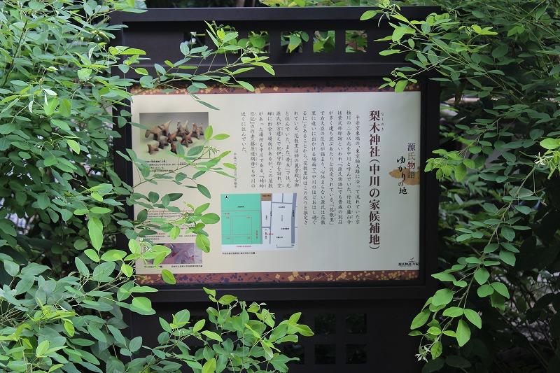 梨木神社 中川の家候補地