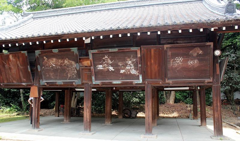 京都 御香宮神社 絵馬堂