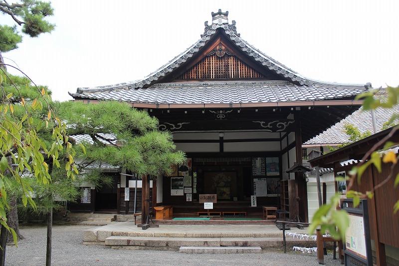 廬山寺 本堂入口