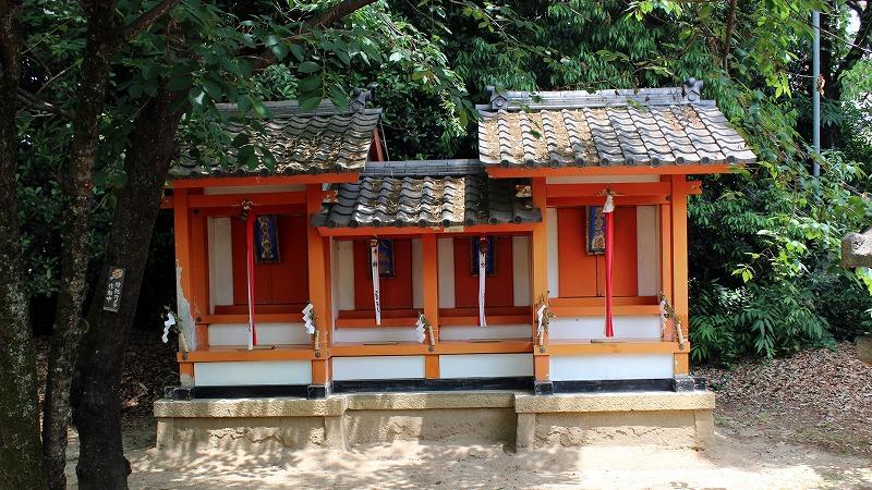 京都 御香宮神社 摂末社
