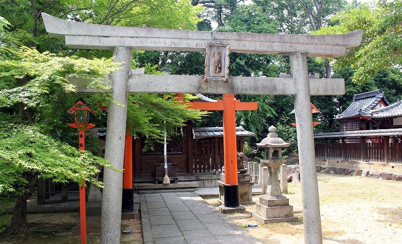 京都 御香宮神社 松尾社