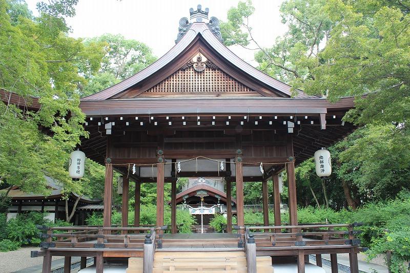梨木神社 拝殿