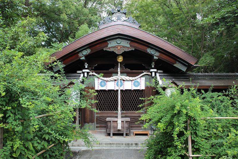 梨木神社 本殿