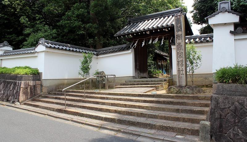 京都 御香宮神社 北門
