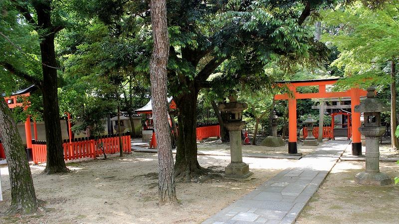 京都 御香宮神社 稲荷社