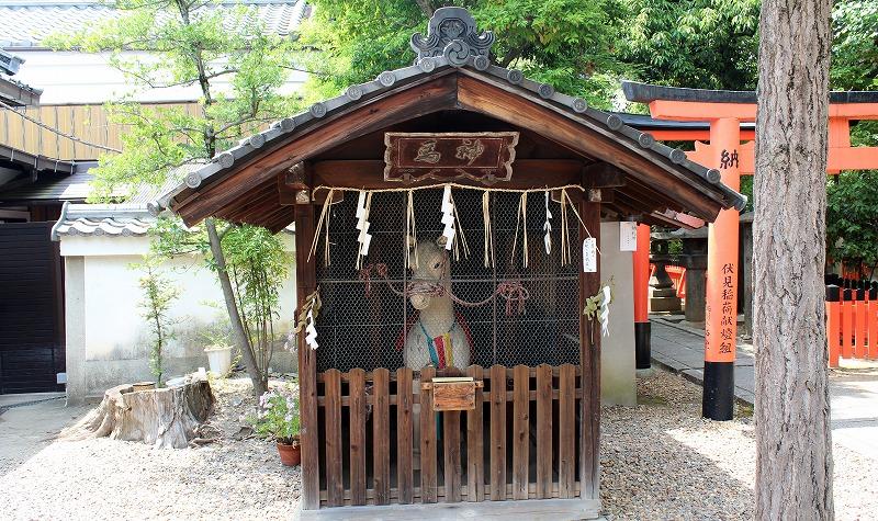 京都 御香宮神社 神馬