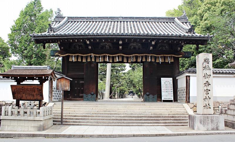 京都 御香宮神社 表門