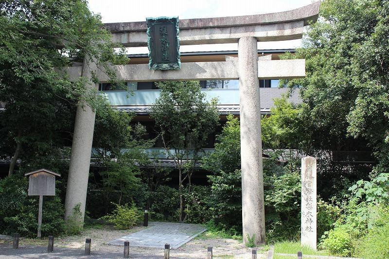 梨木神社 第一の鳥居