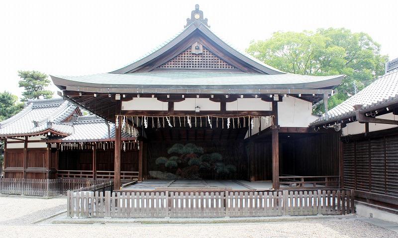 京都 御香宮神社 能舞台