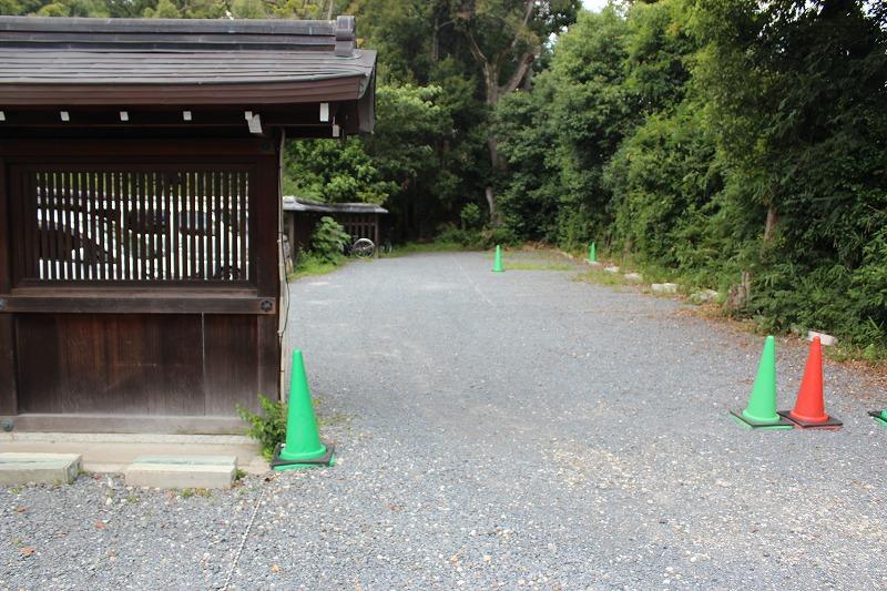 梨木神社 駐車場