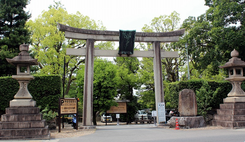 京都 御香宮神社 東門