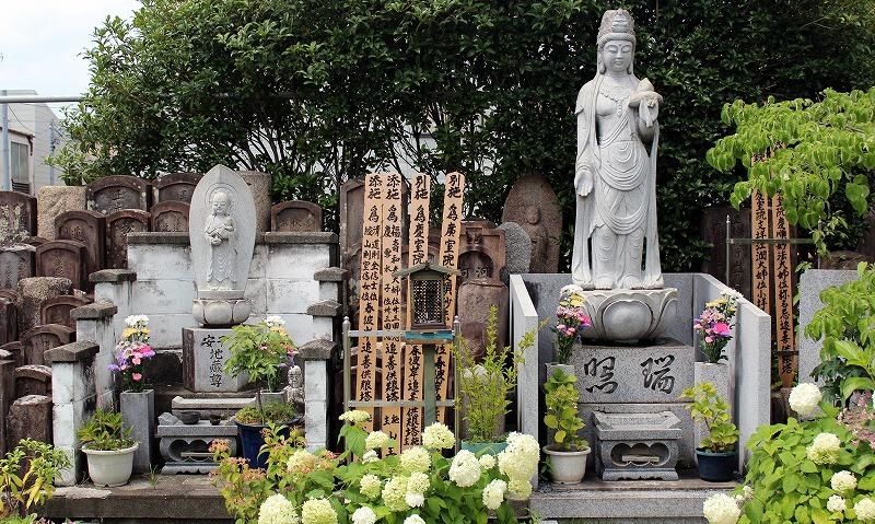 京都 宝福寺 銅像
