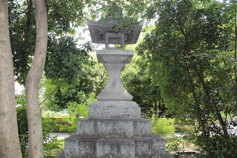 梨木神社 石碑