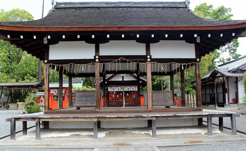 京都 福王子神社 拝殿