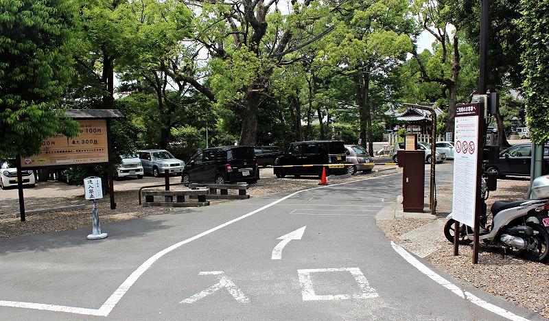 京都 御香宮神社の参拝時間と駐車場