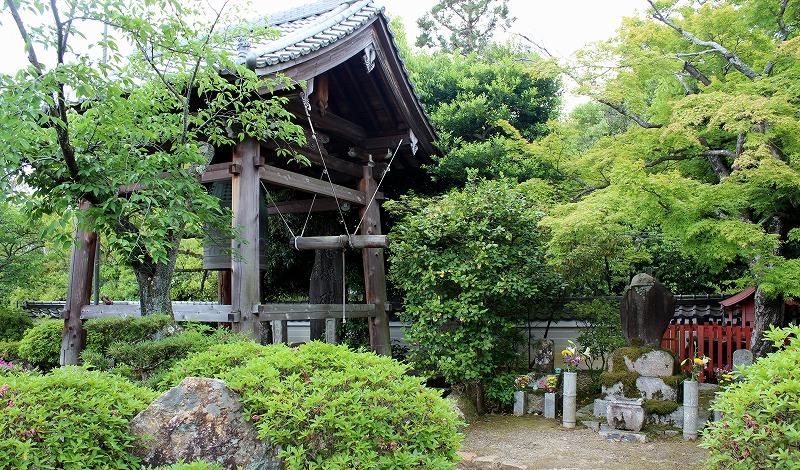 京都 蓮華寺 鐘楼