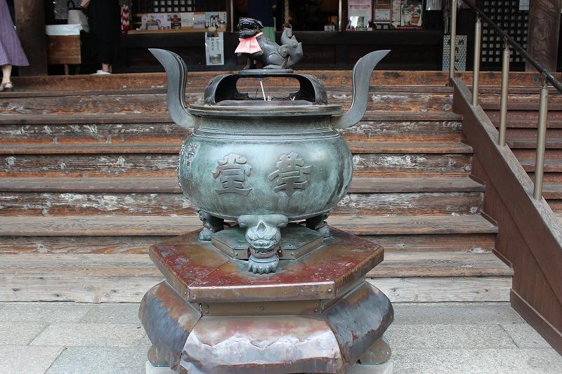 行願寺(革堂)香炉