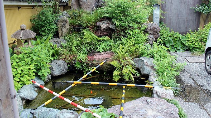 京都 大黒寺 池