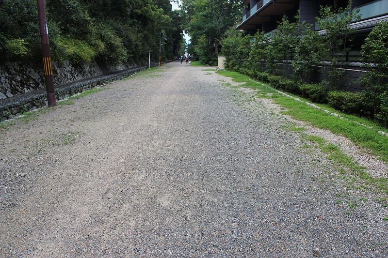 梨木神社 広い道