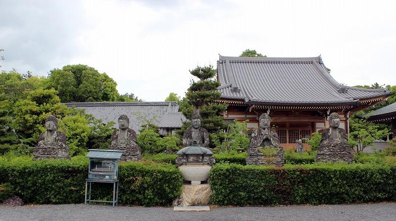 京都 蓮華寺 五智如来座像