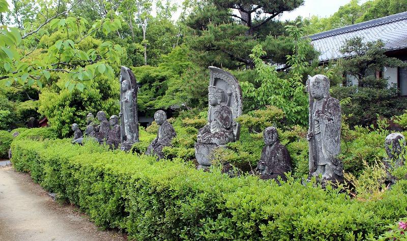 京都 蓮華寺 十一座像