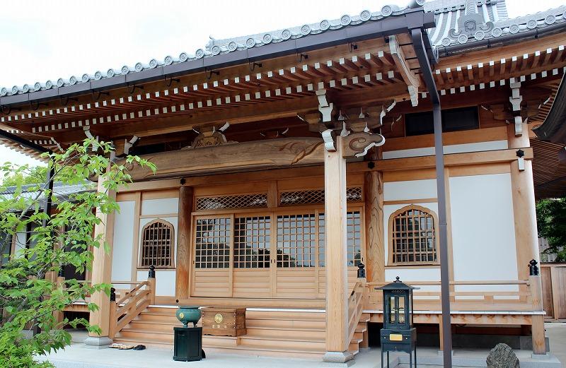 京都 蓮華寺 本堂