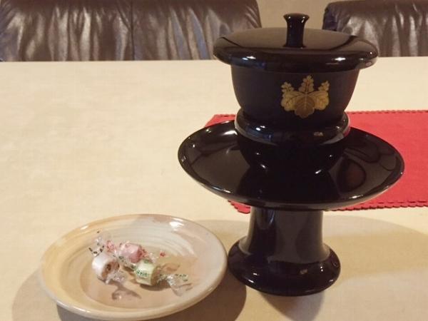 アメックス京都ラウンジ 麦茶