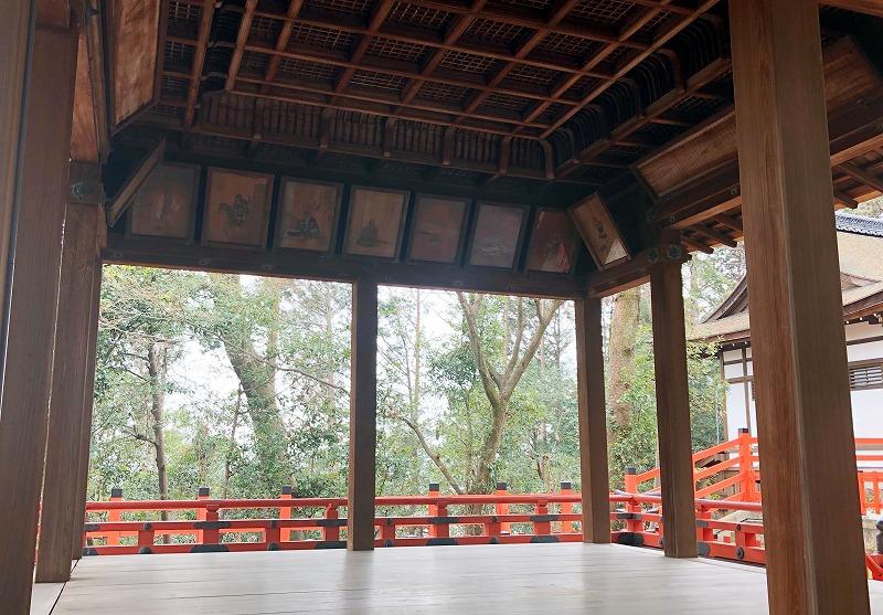 京都 建勲神社 拝殿