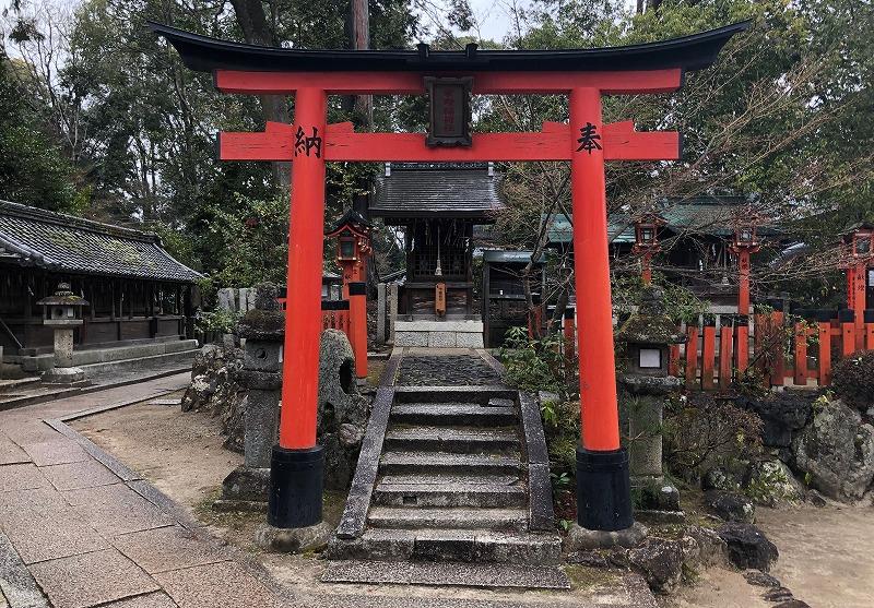 京都 今宮神社 紫野稲荷社