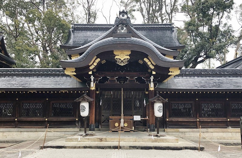 京都 今宮神社 本社