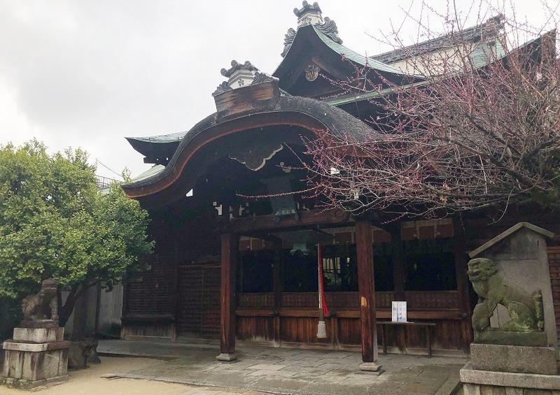 京都 菅大臣神社 本殿