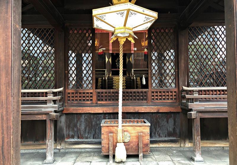 京都 五条天神 本殿
