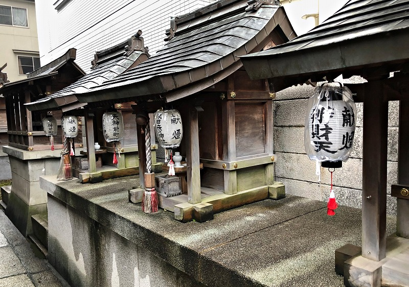 京都 五条天神 末社