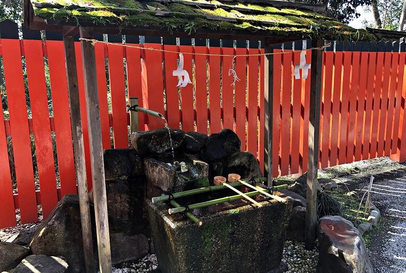 京都 河合神社 手水舎