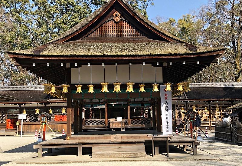 京都 河合神社 舞殿