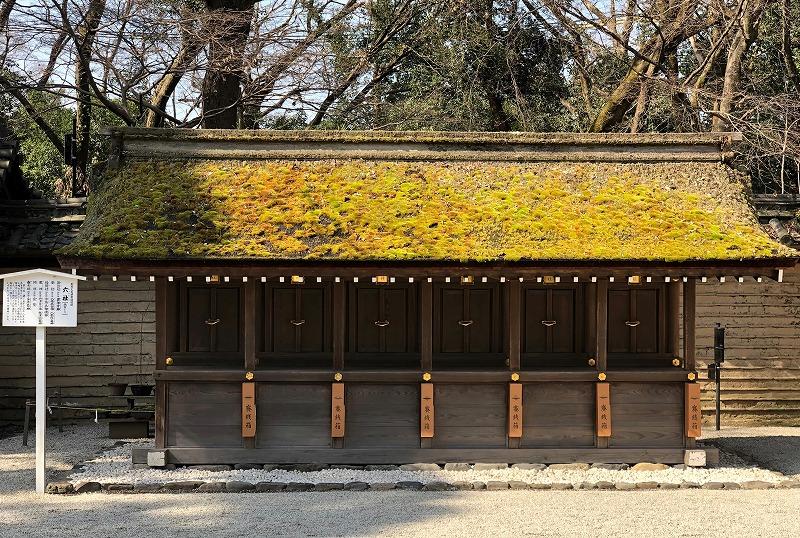 京都 河合神社 六社