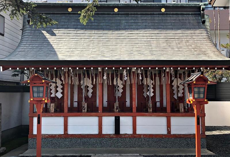 京都 大将軍八神社 五社