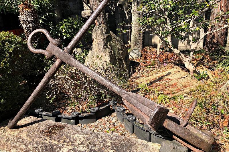 京都 大将軍八神社 イカリ