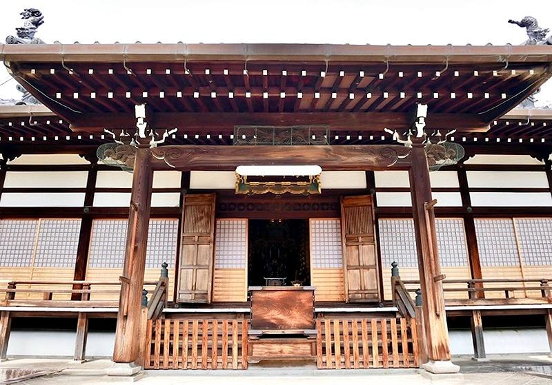 京都 本満寺 本堂